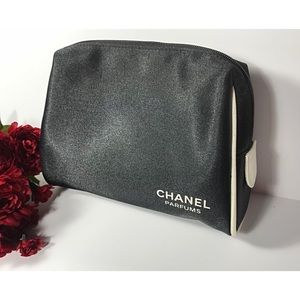 CHANEL cosmetic travel bag